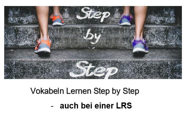 VOKABELN LERNEN STEP BY STEP – BEI EINER LRS