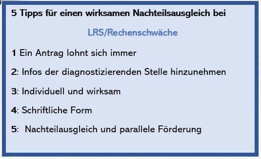 Lerntherapie Susanne Seyfried Nachteilsausgleich Bis Zum Abi