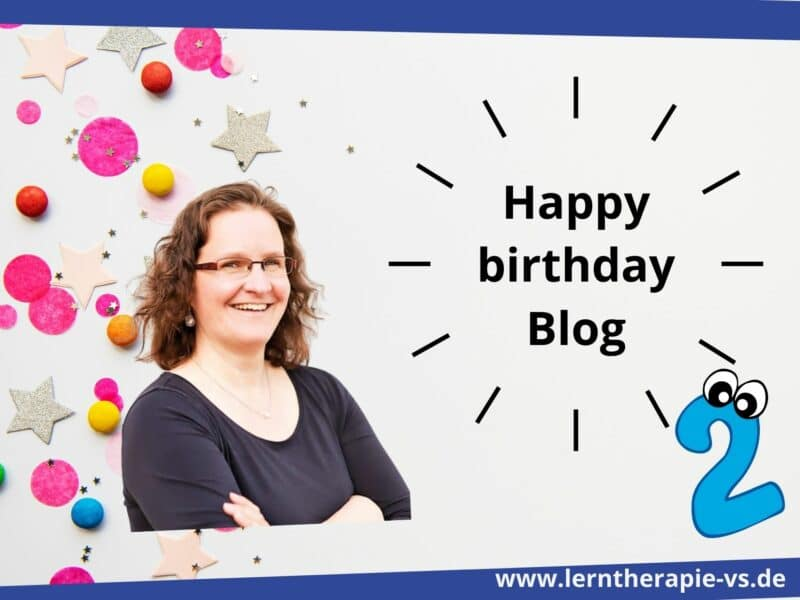 Mein Blog wird 2- wie ich fast alles hingeschmissen hätte